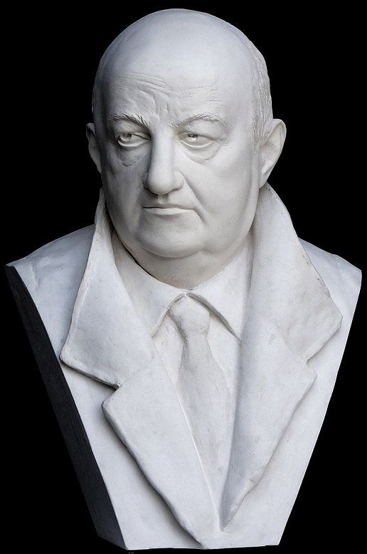 Sculpture marbre, Bernard Blier, Avignon, France, Atelier de sculpture Romel
