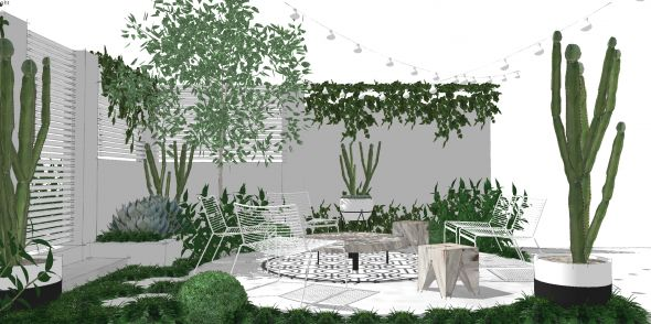 A Garden For Sare by Mon Palmer via Pozible #crowdfunding