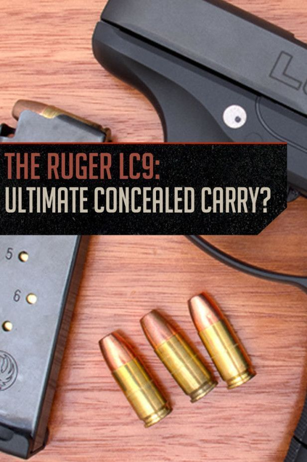 Can the Ruger LC9 be More than a Good Concealed Carry? | Firearm Buying Tips and Review by Gun Carrier http://guncarrier.com/can-ruger-lc9-good-concealed-carry