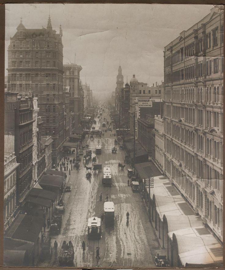 Elizabeth Street, 1910