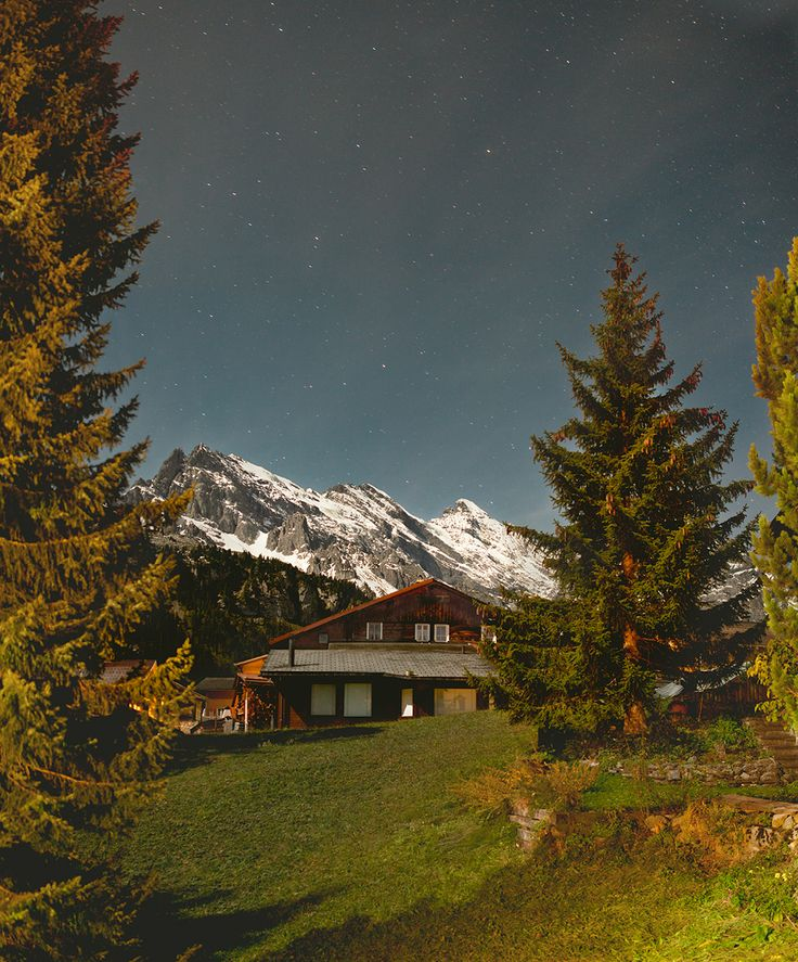 Gimmelwald mountain hostel, Switzerland