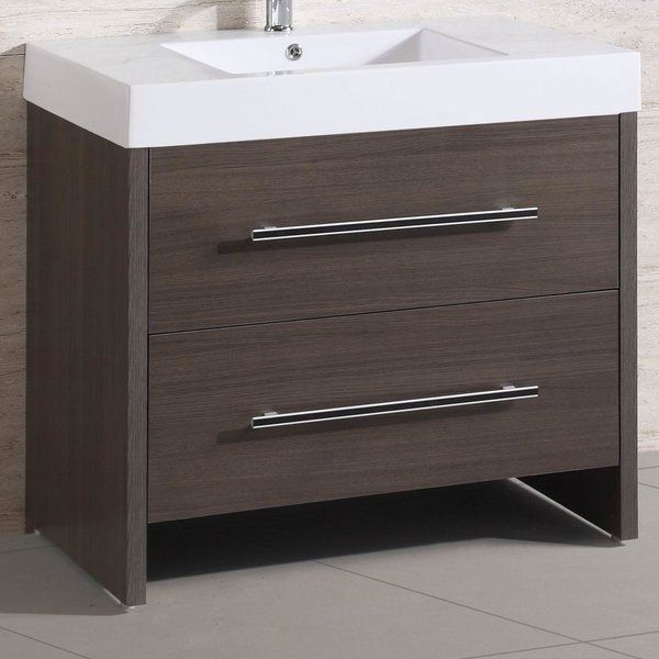 This 36 Single Modern Bathroom Vanity Set Features A Basin And 2