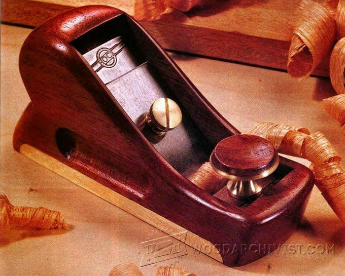 DIY Hand Plane - Hand Tools Tips and Techniques - Woodwork, Woodworking, Woodworking Plans, Woodworking Projects
