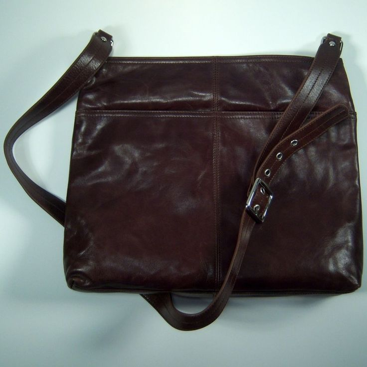 Hobo International LORNA Crossbody Bag Mocha Brown Leather Handbag Pu ...