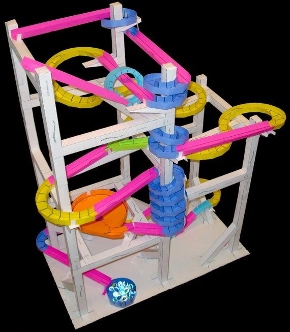 Construction Paper Roller Coaster Paper Roller Coaster Physics Projects Coaster Projects