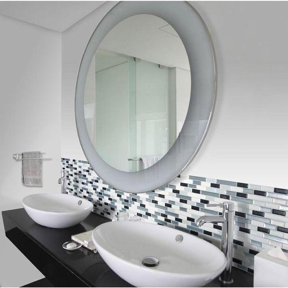 Carrelage mural adhésif salle de bains