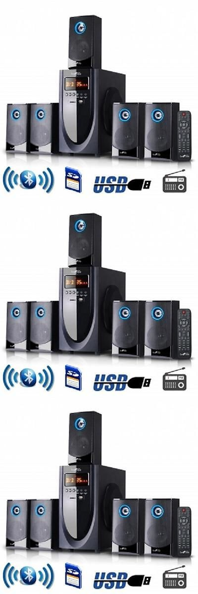 Home Theater Systems: Befree Sound*5.1 Channel*Surround Sound* Bluetooth Home Theater Speaker System BUY IT NOW ONLY: $99.99