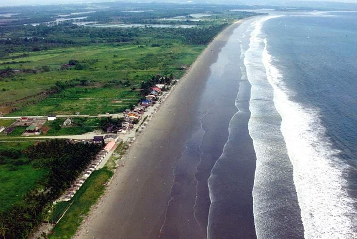 playa de Muisne. Esmeraldas Ecuador
