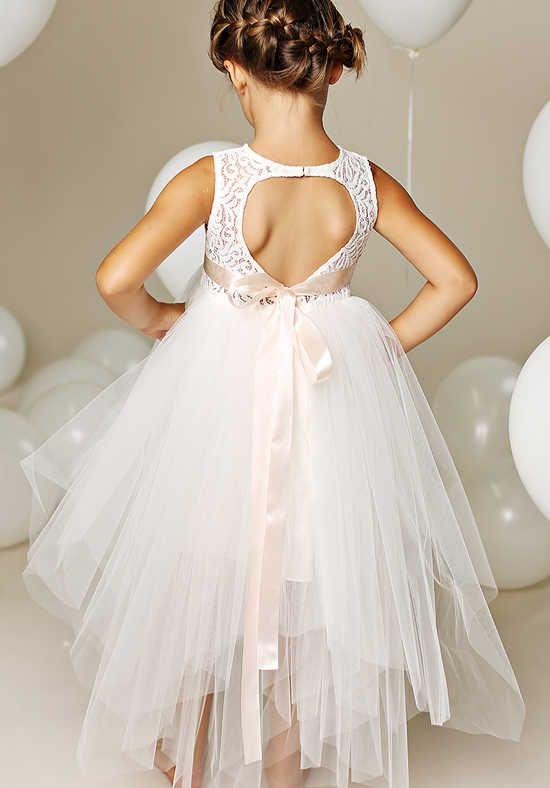FATTIEPIE Florence Ivory Flower Girl Dress