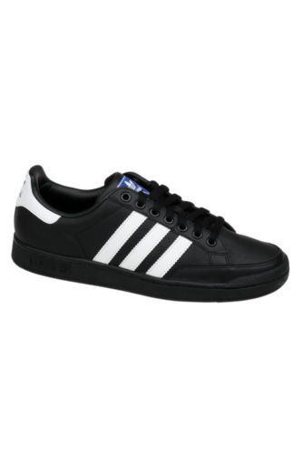 adidas black and white tennis shoes