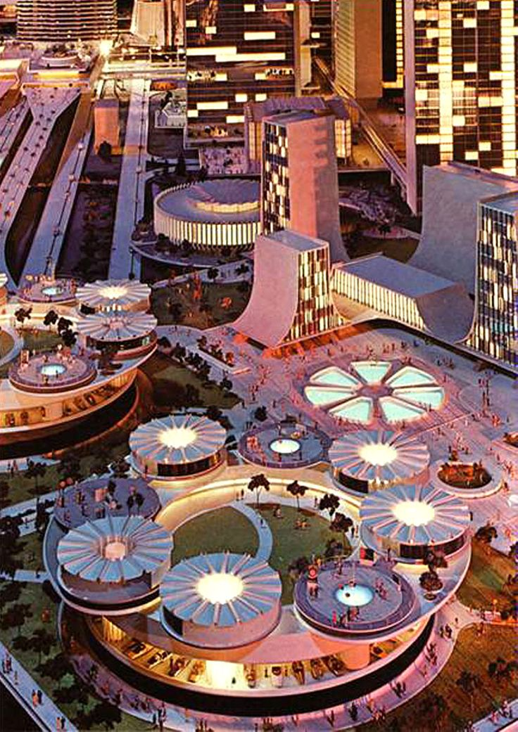 Futurama II exhibit at the New York World's Fair in 1964.: