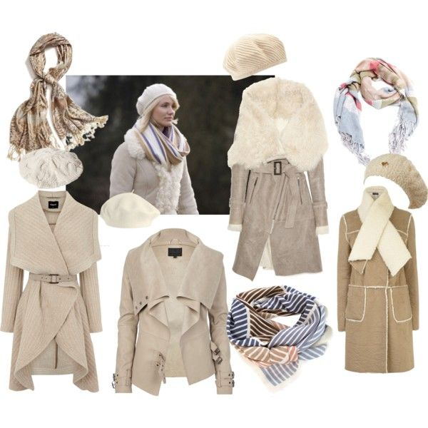 """""""Cameron's Cream Holiday Stay Warm Look"""" by puremoxy-by-cathy on Polyvore"""