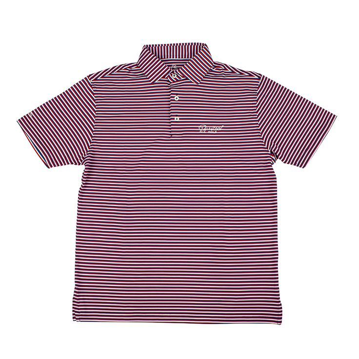 The Rhoback Firecracker Performance Polo from Barstool