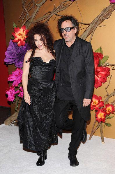 Helena Bonham Carter and Tim Burton Photos - The Museum Of Modern Art Film Benefit: A Tribute To Tim Burton - Zimbio