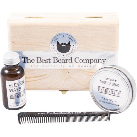 The Best Beard Company Premium Beard Grooming Kit, 4 pc