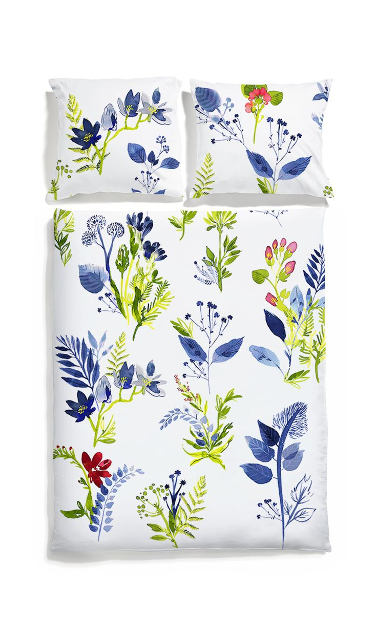 Flower bedding - White pocket #watercolor