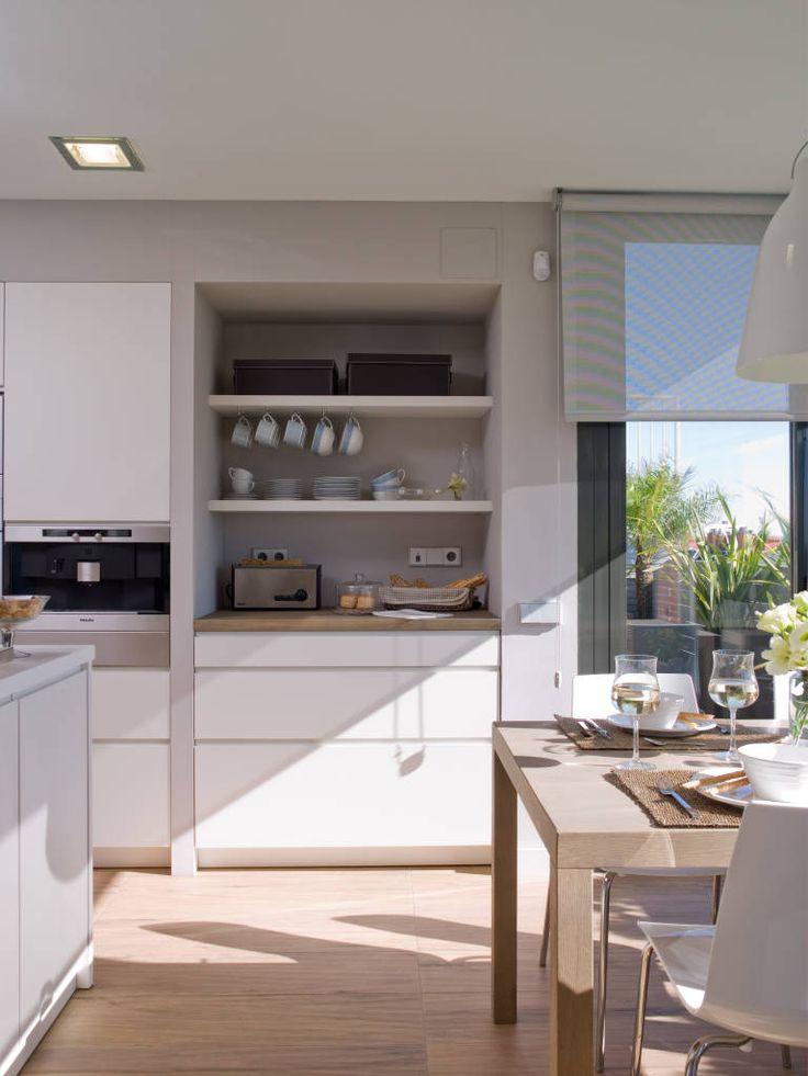 Fotos de cocinas de estilo moderno tiradores tipo u ero - Tiradores de cocina modernos ...