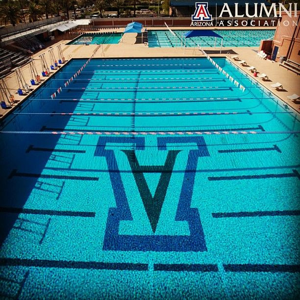 What Better Place To Cool Off On A 94 Degree Day In Tucson Campus Rec Of Course University Of Arizona Campus University Of Arizona Arizona
