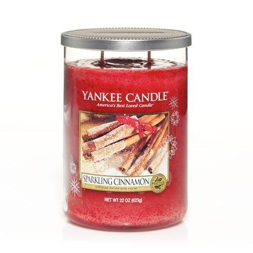Yankee Candle Large Tumbler Candle Sparkling Cinnamon