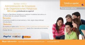 Bachelor of Arts en Administración de Empresas con énfasis en Organizaciones Religiosas