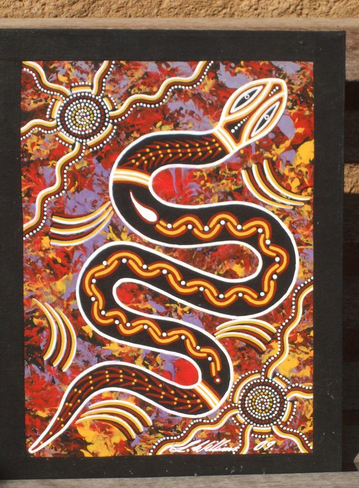 aboriginal art - Snake