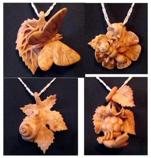 кулон-бабочка image 2