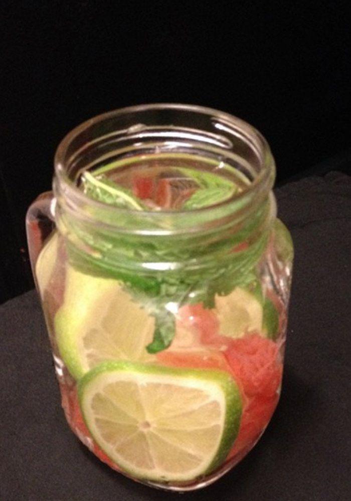 Apple Cider Vinegar and Lime Detox Drink