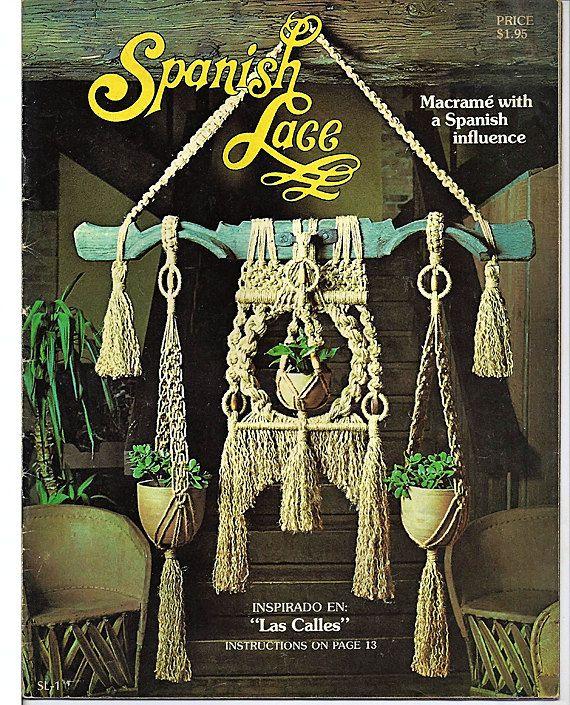 1970 Macrame magazine