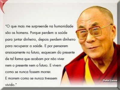 Dalai Lama Pensamentos