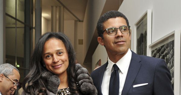 The globally, uber-gorgeous couple: Mr. and Mrs. Sindika Dokolo. (He is a Congolese arts collector and businessman. She is also known as Mrs. Isabel Dos Santos, of Angola, and she's a Princess and corporations investor.)