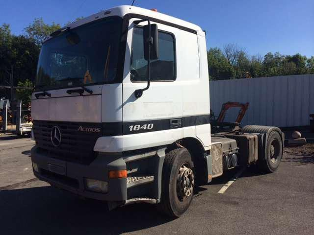 Tracteur routier Mercedes 1840 lsn occasion