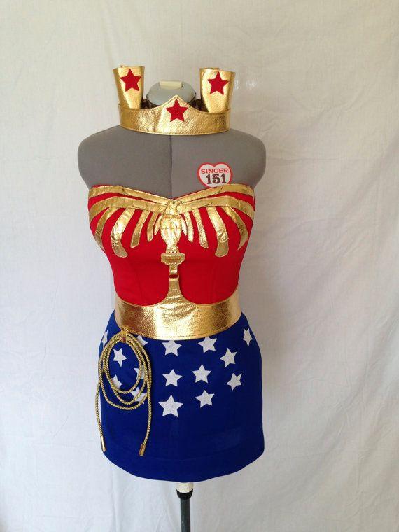 Wonder Woman Costume Lynda Carter Replica Comic Con by delphina123