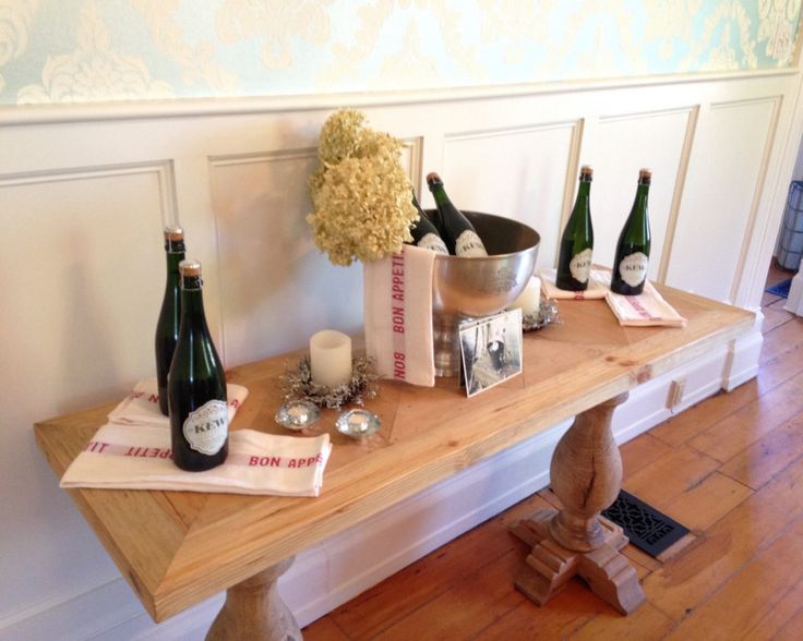 Sparkling Wine at Kew Vineyards