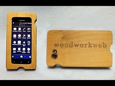 VIDEO - Make a Woodend iPhone Case