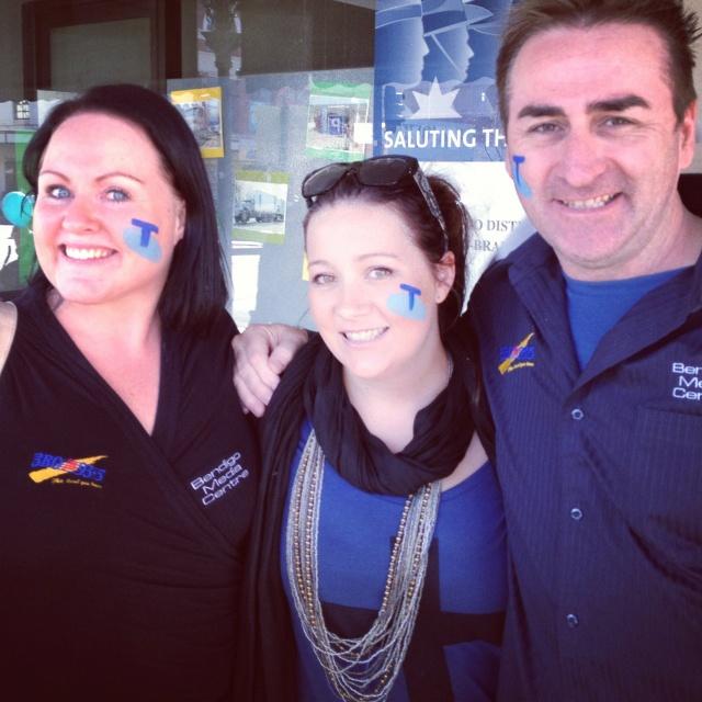 3BO Team - Beck Holly & Cogho @ Telstra Event Bendigo Vic