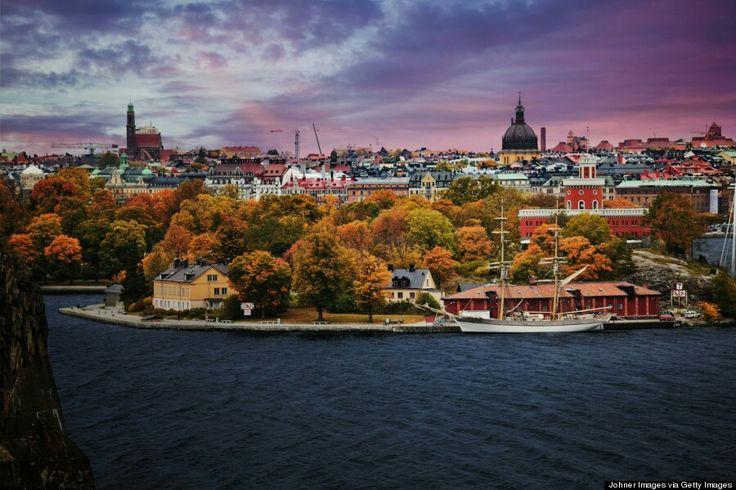 Estocolmo, Suecia Capital de Suecia. É coñecida pola súa arquitectura