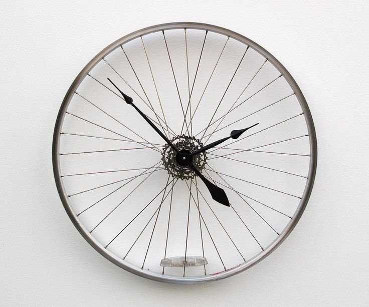 Bike Design Wall Clock : Ideas about modern wall clocks on wooden