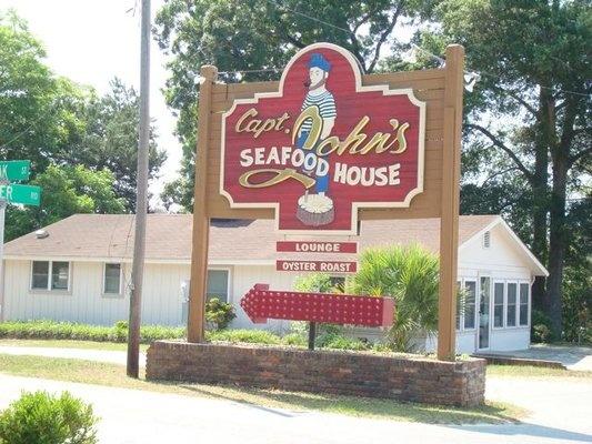 Captain John's Seafood House, Calabash NC