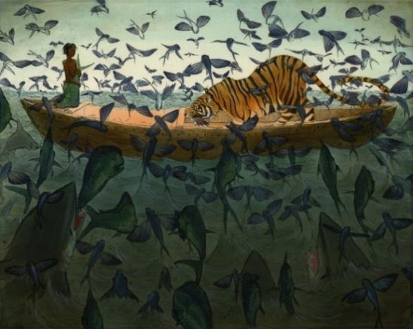 Life Of Pi, illustrated...which story do you prefer?