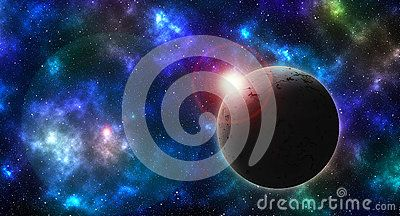Textured Planet On Colored Sky - Download From Over 57 Million High Quality Stock Photos, Images, Vectors. Sign up for FREE today. Image: 89215977