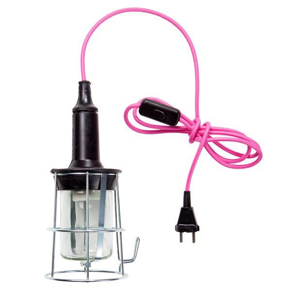 Pink Valoroikka lamp by Johtoi.
