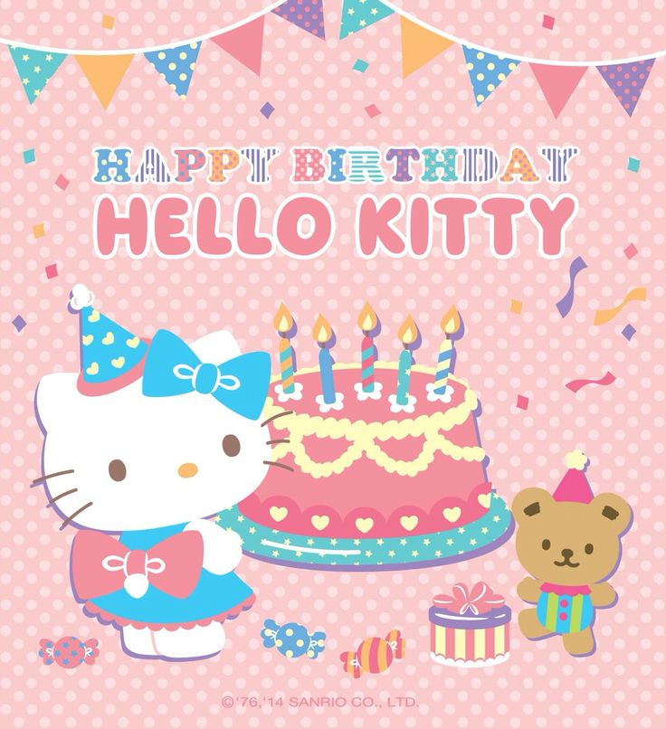 """122 Best Images About Hello Kitty """" Happy Birth Day """" On"""