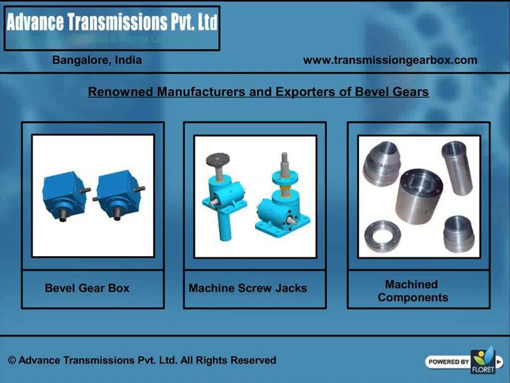 We are manufacturers and exporters of high quality transmission products some of which are industrial gear box, industrial gears, Machined Components, agricultural gear parts. Based out of Bangalore, Karnataka (India) we established our enterprise in the year 2012. If morning shows the day, the critical appreciation we have received from our quality conscious clientele surely promises a benchmark position in the domain in the very near future. - See more at…
