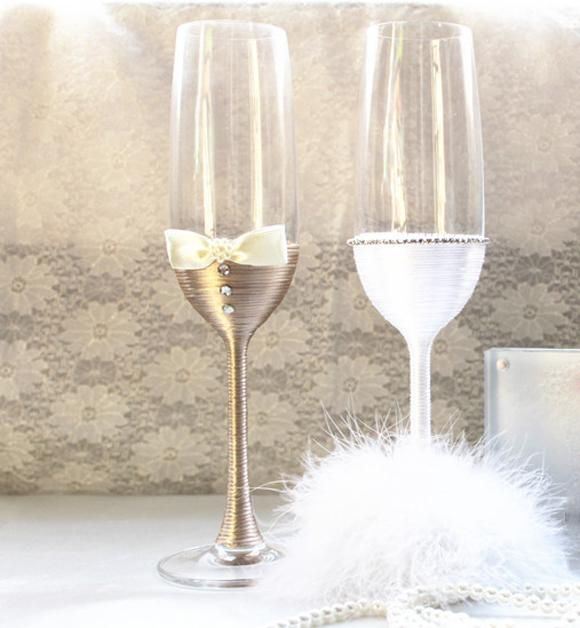 Handmade Feather Tulle Satin Pearl Bride And Groom Crystal Champagen Glasses Without Lead Champagne Flute Multi Color Unleaded Wedding Favor Wedding Favors Cheap Wholesale Wedding Favours Cheap From Letaotao1107, $41.89| Dhgate.Com