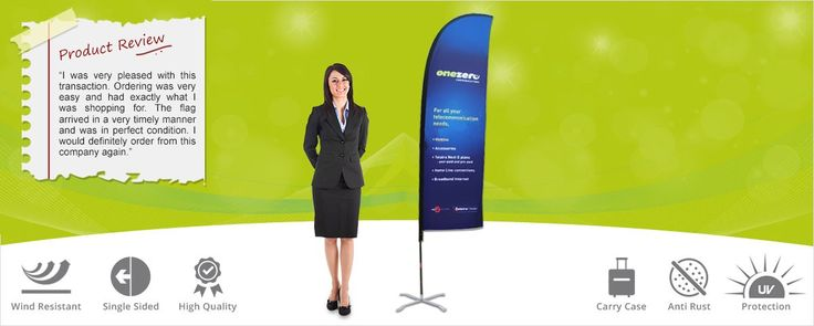 Advertising banner Flags, Feather Advertising Flags Signs