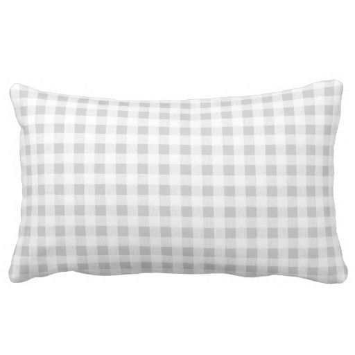 Gray White Gingham Pattern Pillows This site is will advise you where to buyShopping          	Gray White Gingham Pattern Pillows Online Secure Check out Quick and Easy...