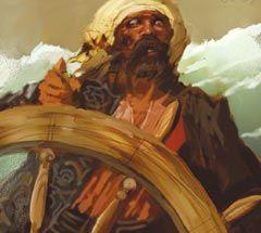 PotBC 118 - Barbary corsair crew helmsman/treasure