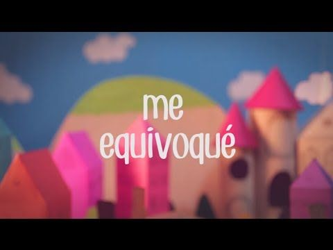Me equivoqué por CD9 (acrónimo de Código 9), una boy band mexicana. Lindo video animado con la letra.