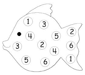 Homeschool Parent: Roll The Dice Number Recognition Game