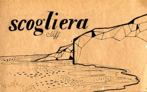 Learning Italian Language ~ Scogliera (cliff) IFHN